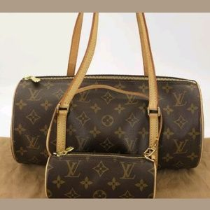 100% Auth Louis Vuitton Papillon 30 Handbag